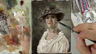 Portrait Oil Painting Demonstration