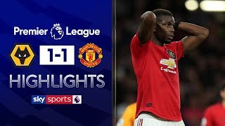 HIGHLIGHTS | Wolves 1-1 Manchester United | Premier League | 19th August 2019