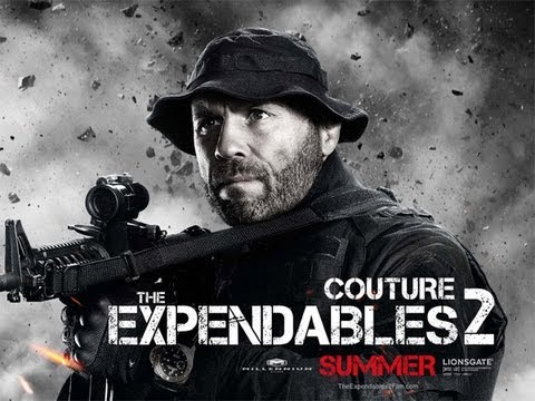 Randy Couture and Scott Adkins Talk 'The Expendables 2'