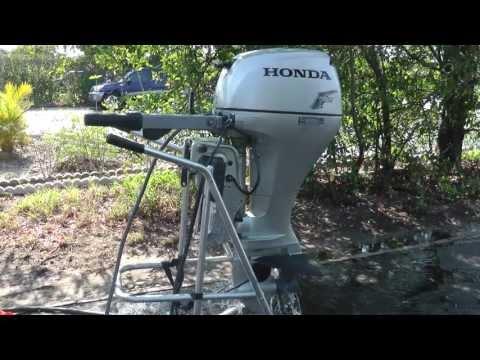 2008 Honda 2008 20hp tiller outboard motor