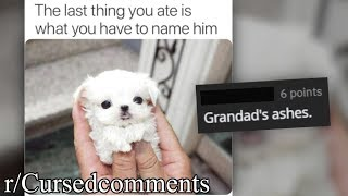 r/Cursedcomments | what did you last eat?
