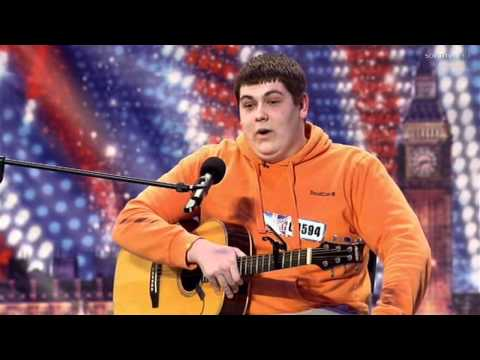 Michael Collings on Britain's Got Talent 2011 Week 1 Music Videos
