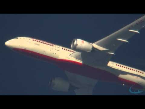 Air India contrailspotting