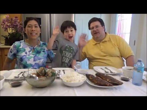 Cooking Filipino Food | Eating Filipino Food | Filipino Dinner Mukbang | Cooking Clam Soup