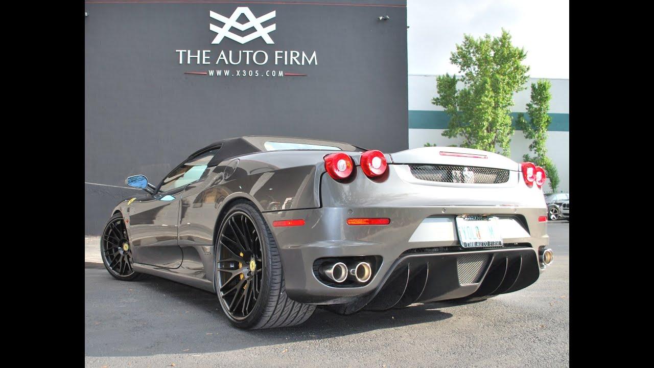 2008 Ferrari F430 Spider With Avorza Av1 Wheels The Auto