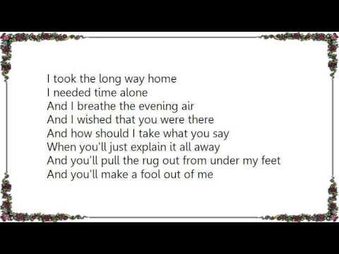 Brendan Benson - You Make a Fool out of Me Lyrics