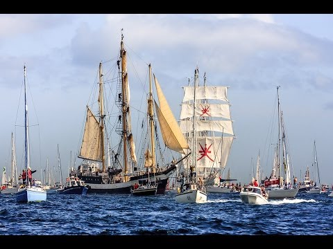 Falmouth to Royal Greenwich Tall Ships Regatta, Cornwall 2014