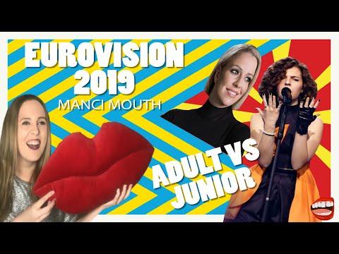 Eurovision 2019 Vs Junior Eurovision 2019:  North Macedonia | Manci Mouth