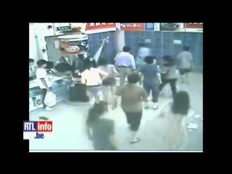 CHOC – Une dame tuée par un chariot de supermarché