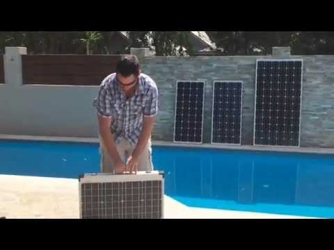 Solar Panel Range & Connection to a Battery