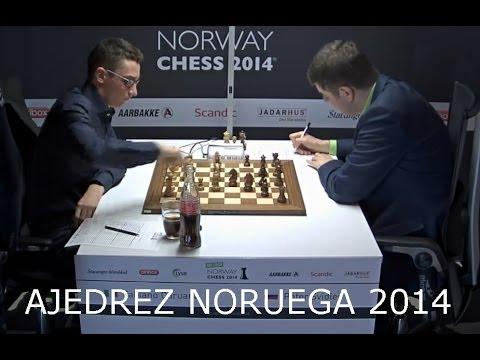 Ajedrez Noruega 2014 - Super Torneo Ajedrez Noruega 2014 Caruana Svidler