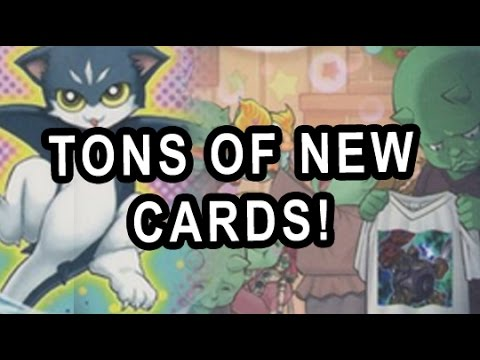 TONS OF NEW CARDS! (DEVPRO NEW CARDS/UPDATE DEC 2014)