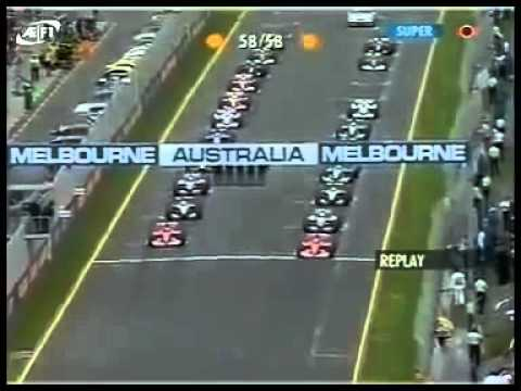 Ralf Schumacher's massive F1 crash @ Melbourne 2002