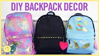 STYLE & BEAUTY | DIY Backpack Decor