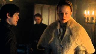 Violación de Ramsay Bolton a Sansa Stark   Juego de Tronos Español HD