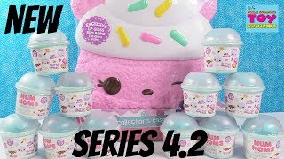 Num Noms Series 4.2 + Collectors Case Exclusive Packs Toy Review | PSToyReviews