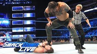 Dean Ambrose vs. Baron Corbin: SmackDown Live, 30. August 2016