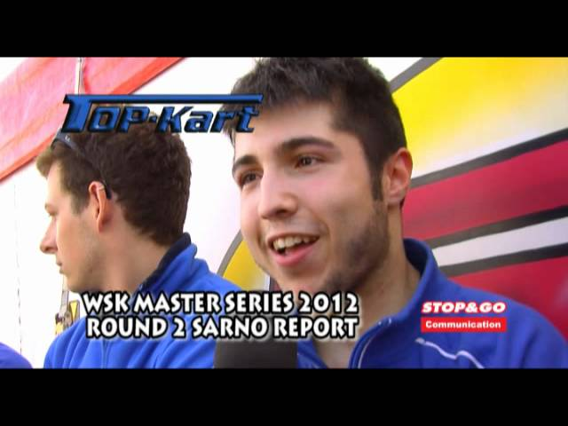 WSK Master Series 2012 Round 2 Sarno Top Kart Racing Team Report