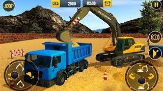 Xe cẩu cẩu -Excavator Crane -Game Town Studio-City Truck 3D .-Heavy Excavator Crane:
