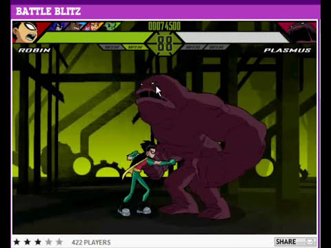 Teen Titans Battle Blitz - Robbin