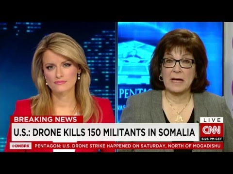 US drone strikes kill 150 Al-Shabab Militants in Somalia