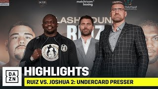 HIGHLIGHTS | Ruiz vs. Joshua 2: Undercard Press Conference
