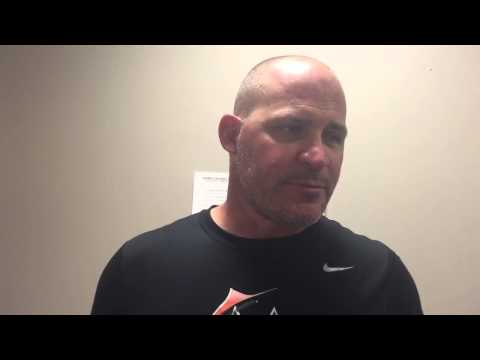 Post game interview with Suns Manager David Berg 7-27-2015 Birmingham Barons