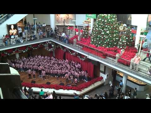 Salt Lake Elementary School performing at Ala Moana Center