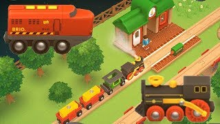 Brio World Railway App Video for Kids Trains / Eisenbahn Zug Kinderfilm