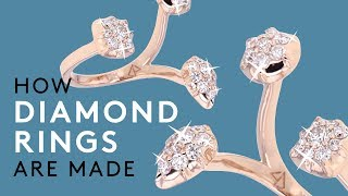 How Diamond Rings Are Made | How Stuff Is Made | Refinery29