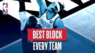 NBA's Best Block Of Every Team | 2018-19 NBA Season | #NBABlockWeek