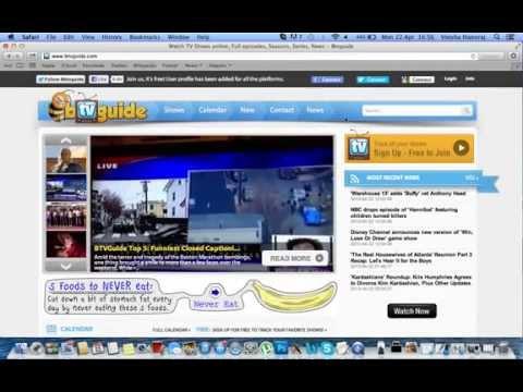 Watch tv shows online free mac