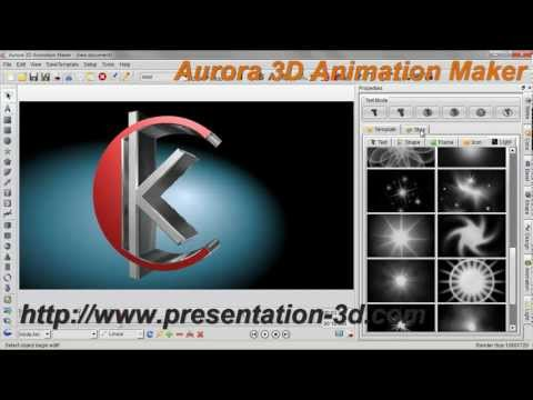 3D Animation Software   Text and Logo Animation Demo   Aurora3D Software