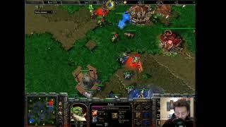 Infi (HU) vs XioKkkai (Orc) - G2 - WarCraft 3 - WC1922