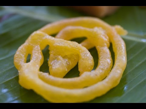 How to make Jalebi - Indian sweets
