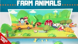 Tiếng Anh cho bé - Stop motion chủ đề farm animals