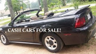 Cheap Cash Cars For Sale In Houston TX - 832-736-7592