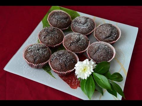 Рецепты быстрых шоколадных маффинов