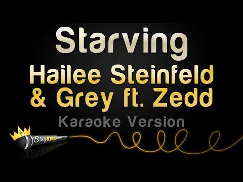 Hailee Steinfeld & Grey ft. ZEDD - STARVING (Karaoke Version)
