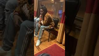 "Kodak Black in Detroit studio recording new song ""Expeditiously"""