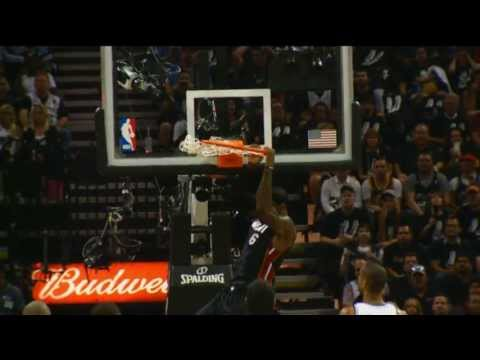 Phantom: LeBron James' Fast Break Finish