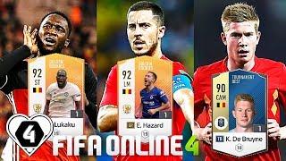 "FIFA ONLINE 4: BUILD & TEST DÀN TEAM "" QUỶ ĐỎ BỈ "" 700Tr MAX BINH - ShopTayCam.com"