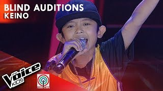Keino Encelan - Kabataan Para sa Kinabukasan | Blind Auditions | The Voice Kids Philippines Season 4