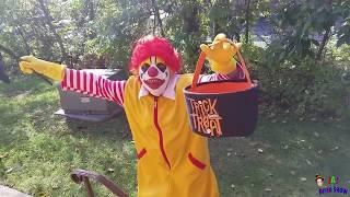 Ronald McDonald's Halloween Video!    Ronald McDonald's surprise visit to Jai Bista Show