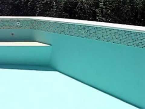 Pileta de natacion construida en material youtube for Construccion de piletas de material