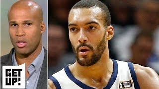 Gobert call that led to ejection was 'disrespectful' by officials - Richard Jefferson | Get Up!