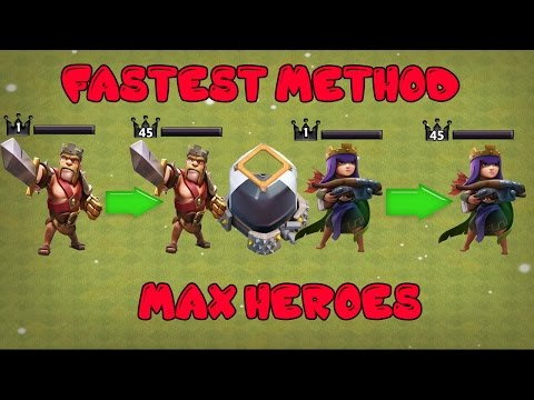 Clash Of Clans - FASTEST DARK ELIXIR FARM METHOD - MAX HEROES FAST TH7,TH8,TH9,TH10,TH11