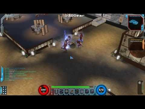 Marvel Heroes Storm Gameplay