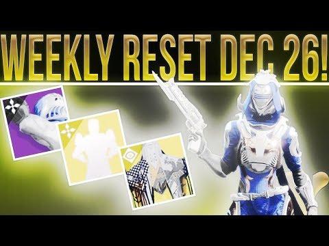 Destiny 2 Weekly Reset! New Dawning Items, Saint -14 Ship, Nightfall, Weekly Milestones,  & More!