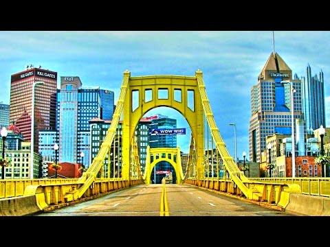 Pittsburgh Downtown - Street Tour
